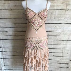 Sue Wong Beaded Flapper Dress